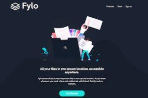 Fylo - a static website